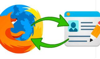 Как настроить синхронизацию данных в Mozilla Firefox