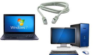 Как настроить сеть между компьютерами с Windows 7 и Windows XP