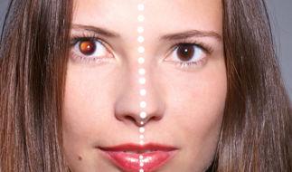 Как быстро убрать красные глаза с фотографии