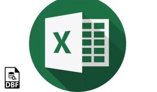 Как из Excel-файла сделать DBF-файл