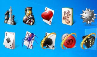 Как установить стандартные игры в Windows 8 и Windows 10