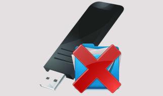 Файлы с флеш-карты не видны на компьютере