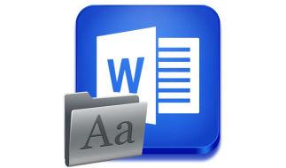 Как в MS Word вернуть дефолтный (изначальный) шрифт