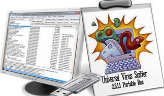 Как удалить смс-баннер с компьютера с помощью Universal Virus Sniffer