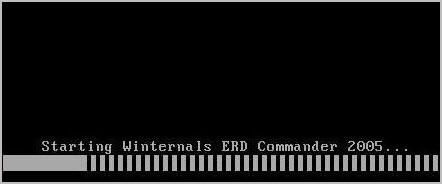 загрузка ERD Commander