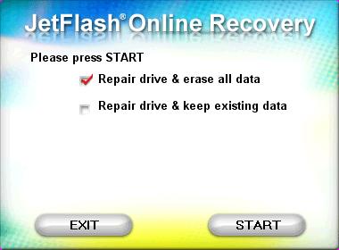 JetFlash OnlineRecovery