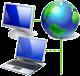 общий доступ в интернет