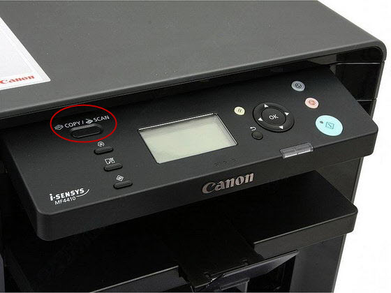 Canon MF4410 сканер