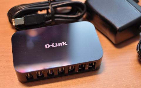 USB-разветвитель D-Link DUB-H7