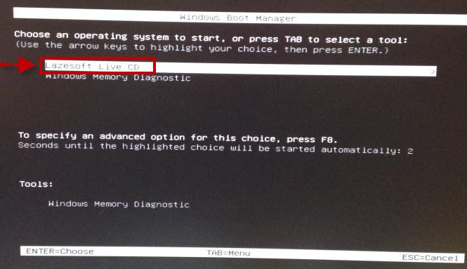 взломать пароль windows