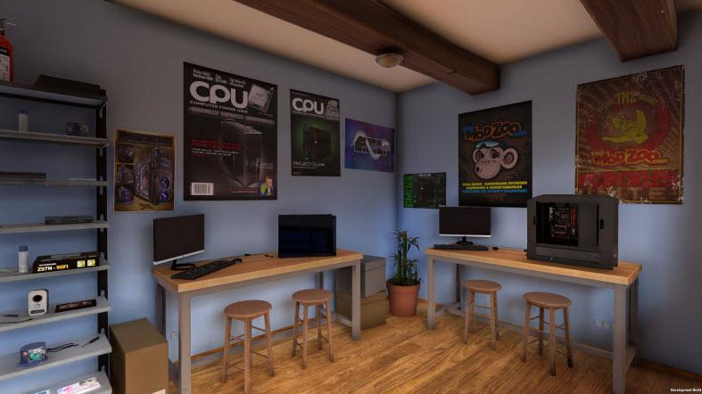 игра по сборке компьютера из деталей