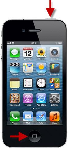 жесткая перезагрузка iphone
