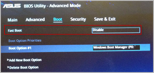 BIOS Utility EZ Mode