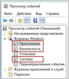 журнал событий windows