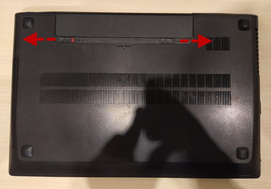 заменить жесткий диск в ноутбуке Lenovo G505