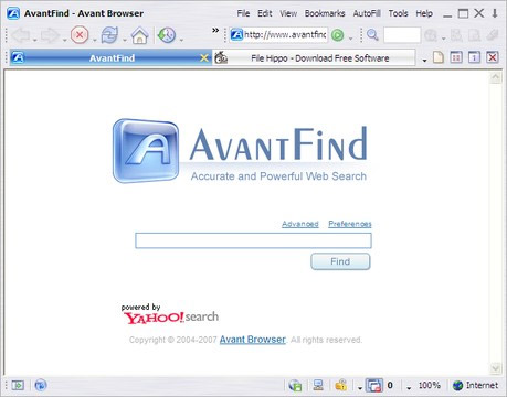brauzer-Avant-Browser